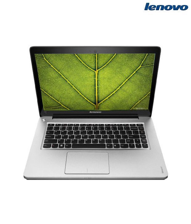 Lenovo Ideapad U410 (59-341061) Ultrabook (2nd Gen Ci3/ 4GB/ 500GB + 24GB SSD/ Win7 HB/ 1GB Graph)(Metallic Grey)