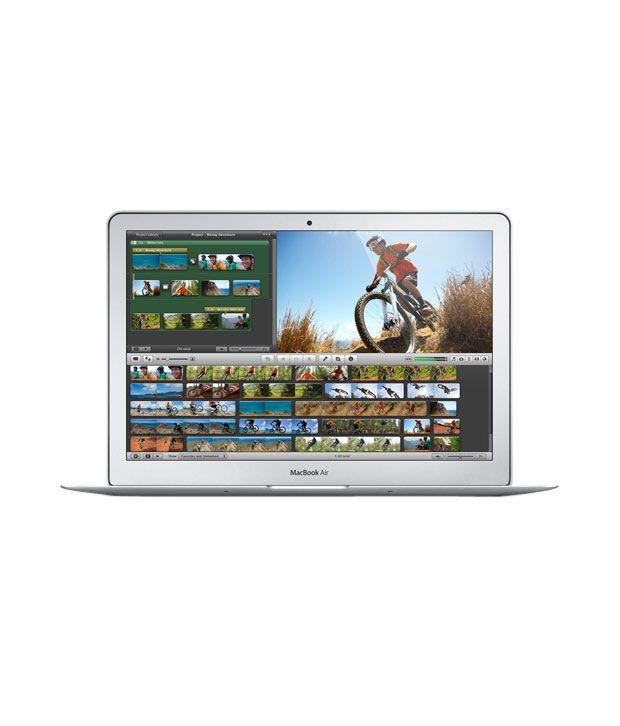Apple MacBook Air MD761HN/A (4th GenDual-Core i5 - 4 GB RAM- 256 GB Flash Storage- 33.78cm (13.3)- OS X Mountain Lion -  5000) (Silver)
