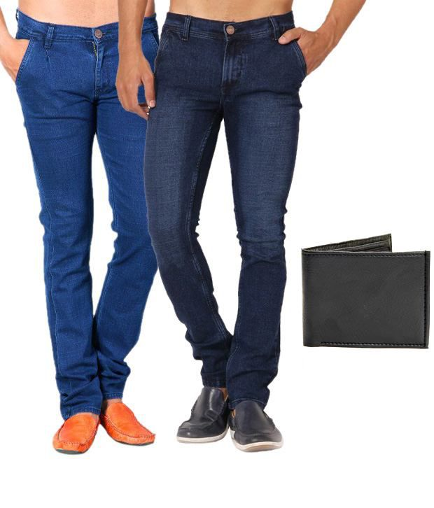 Skeeper Blue Regular Fit  Jeans