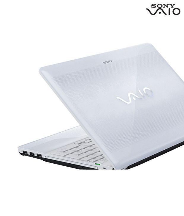 Sony VAIO E Series Laptop VPCEG3AEN (White)