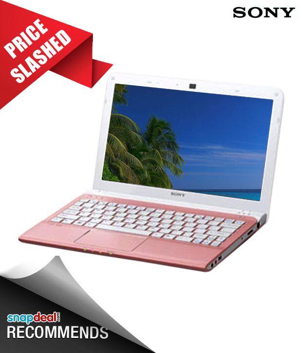 Sony Vaio E Series SVE11115EN (Pink)