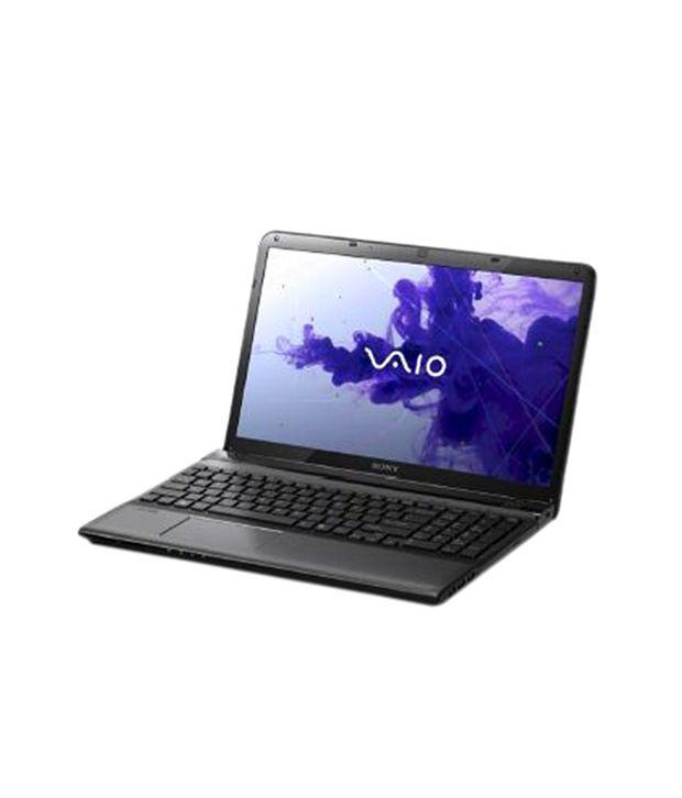 Sony Vaio E14 Series (SVE1413XPNB) Laptop (3rd Gen Core i5 3320M- 4GB RAM- 500GB HDD- 35.56cm (14)- Win 8 Pro) (Black)