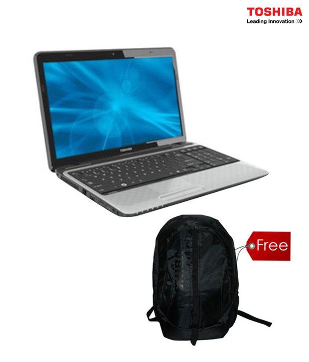 Toshiba Satellite L750-I5010 Laptop(with Free Toshiba Backpack)