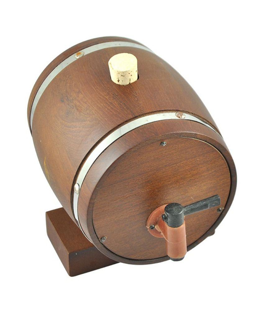 Isteel Wooden Decanter