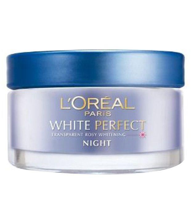 l oreal paris skin expert white perfect night cream 50ml buy l