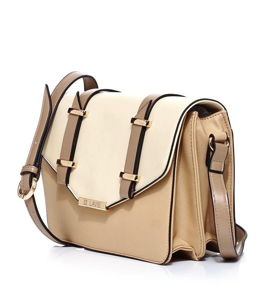 Lavie 8903606031565 Beige Sling Bags - Buy Lavie 8903606031565 ...