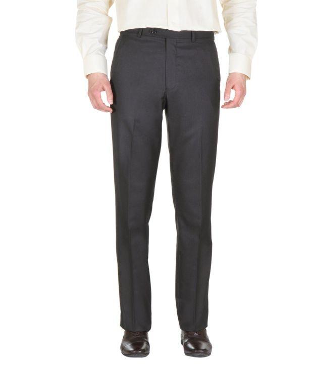 Van Heusen Gray Regular Formals Flat