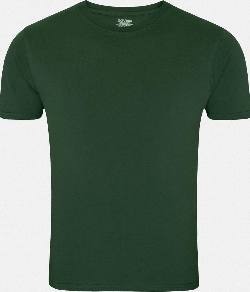 Zovi Green Cotton T-Shirt