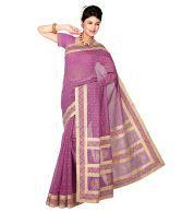 Shuddh Desi Pink Chanderi Chanderi Sarees