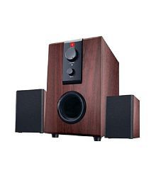 iBall Raaga Q9 2.1 Multimedia woofer Speakers (Sound Box) For Laptop, PC, Mobiles & More
