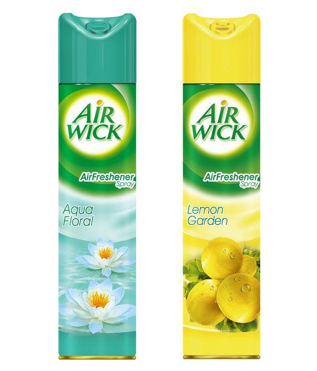 Airwick Aerosol (Lemon, Aqua)