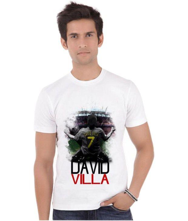 Bluegape David Villa Spain Atletico Madrid Fifa World Cup 2014 T-Shirt