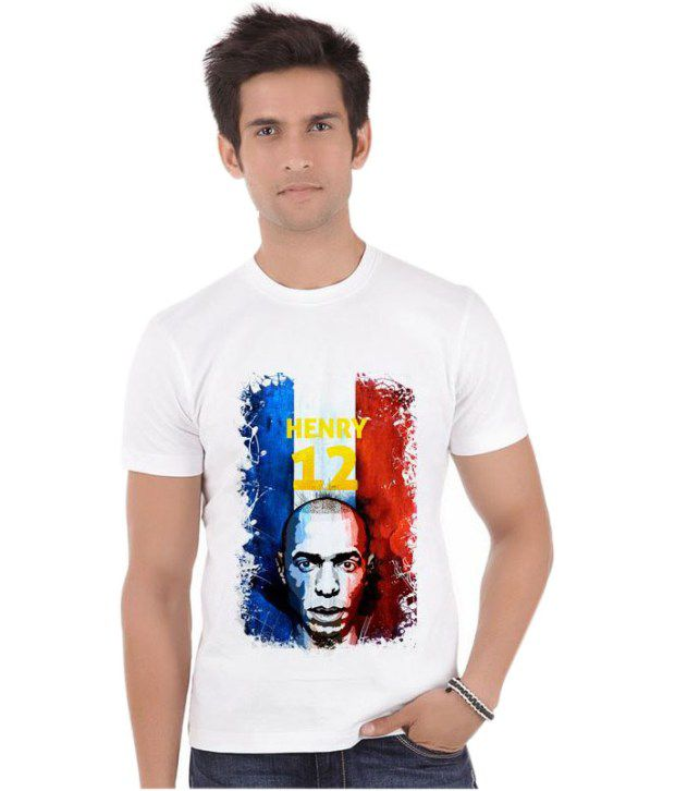 Bluegape Thierry Daniel Henry France New York Red Bulls Fifa World Cup 2014 T-Shirt