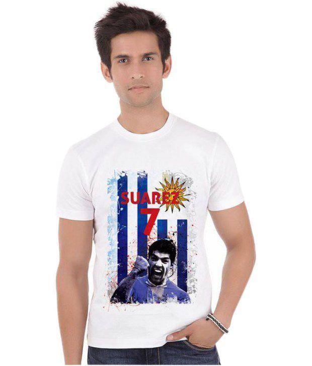 Bluegape Luis Suarez Liverpool Fifa World Cup 2014 T-Shirt