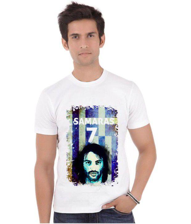 Bluegape Georgios Samaras 07 Greece Celtic  Fifa World Cup 2014 T-Shirt