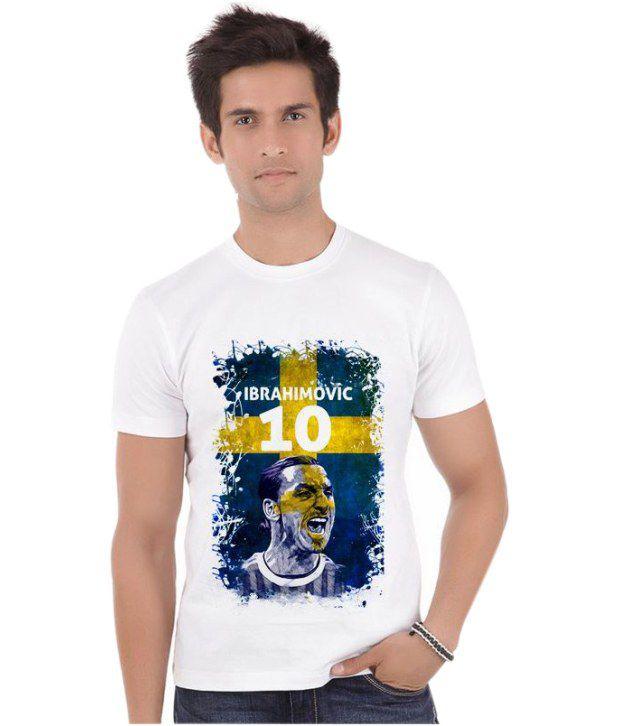 Bluegape Zlatan Ibrahimovic 10 Sweden Paris Saint-Germain Fifa World Cup 2014 T-Shirt
