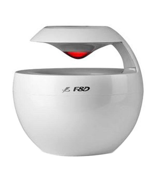 F D W18bt Portable Bluetooth Speaker White Buy F D