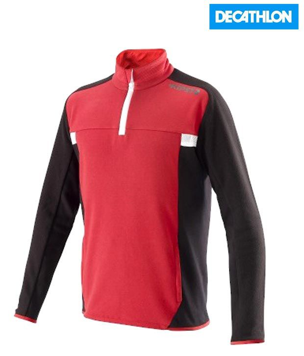 Kipsta Red Football Sweat Shirt -12 8189815