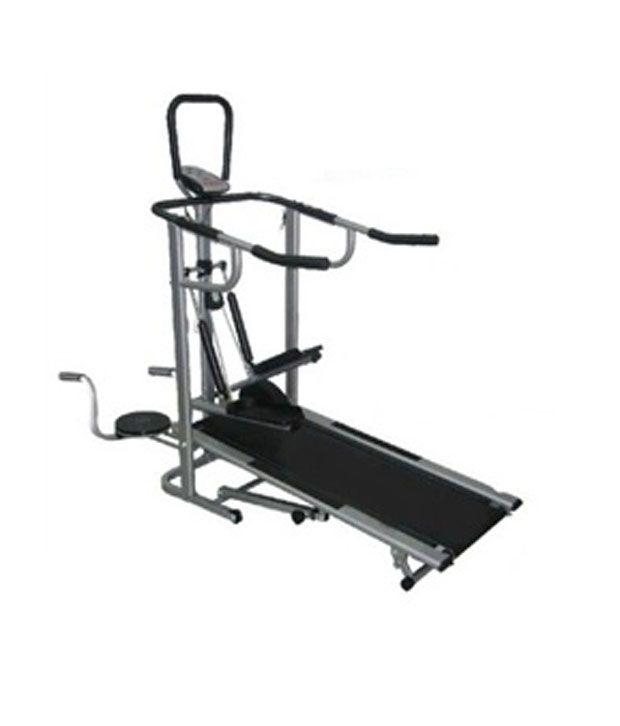 Lifeline 4 in 1 Manual Multifunctional Treadmill Delux