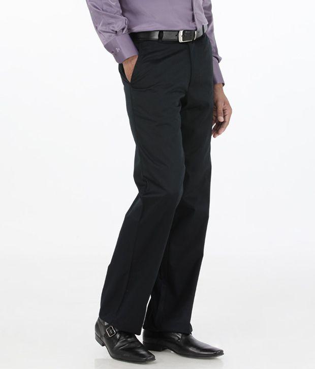 Basics Navy Comfort Semi Formals Flat