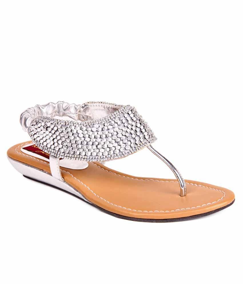 Feel It Silver Sandals