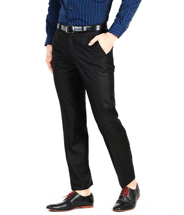 Genesis Black Comfort Formals Flat