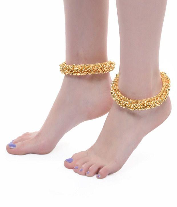 ShinningDiva Gold Plated Payal