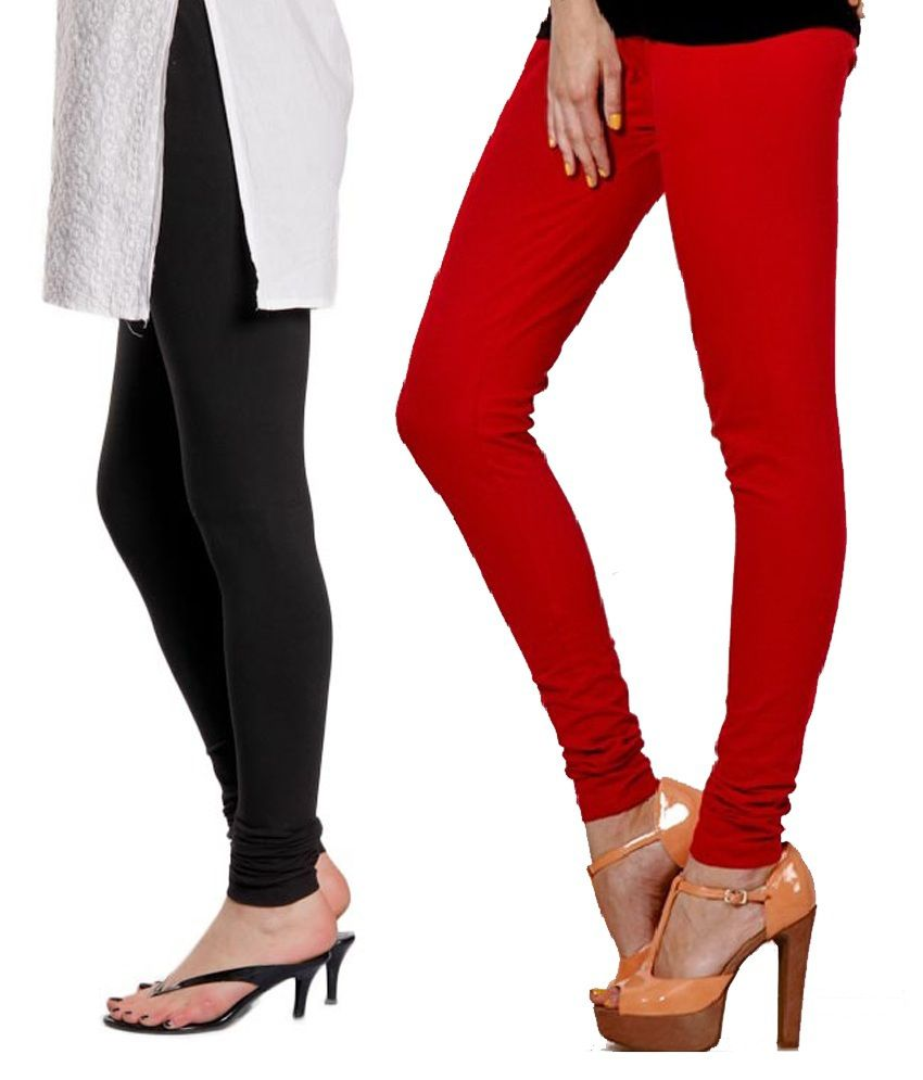 1609a0793b706 Stylobby Black And Red Viscose Pack Of 2 Leggings Price in India - Buy  Stylobby Black And Red Viscose Pack Of 2 Leggings Online at Snapdeal