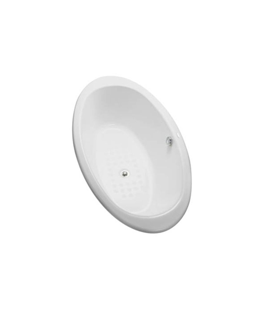 Buy Toto Enameled Cast Iron Bathtub (FBY1610PE) Online at Low Price ...