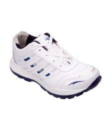 Lovi White & Navy Sports Shoes