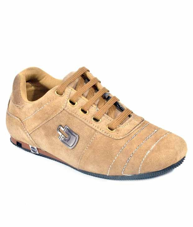 Bigwing Beige Casual Shoes