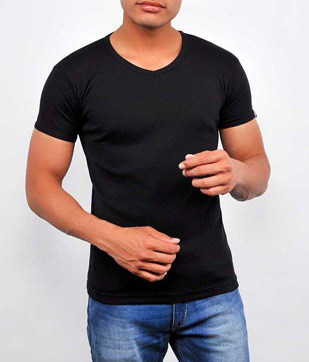Dx Ixi Sport Black Cotton  T-Shirt