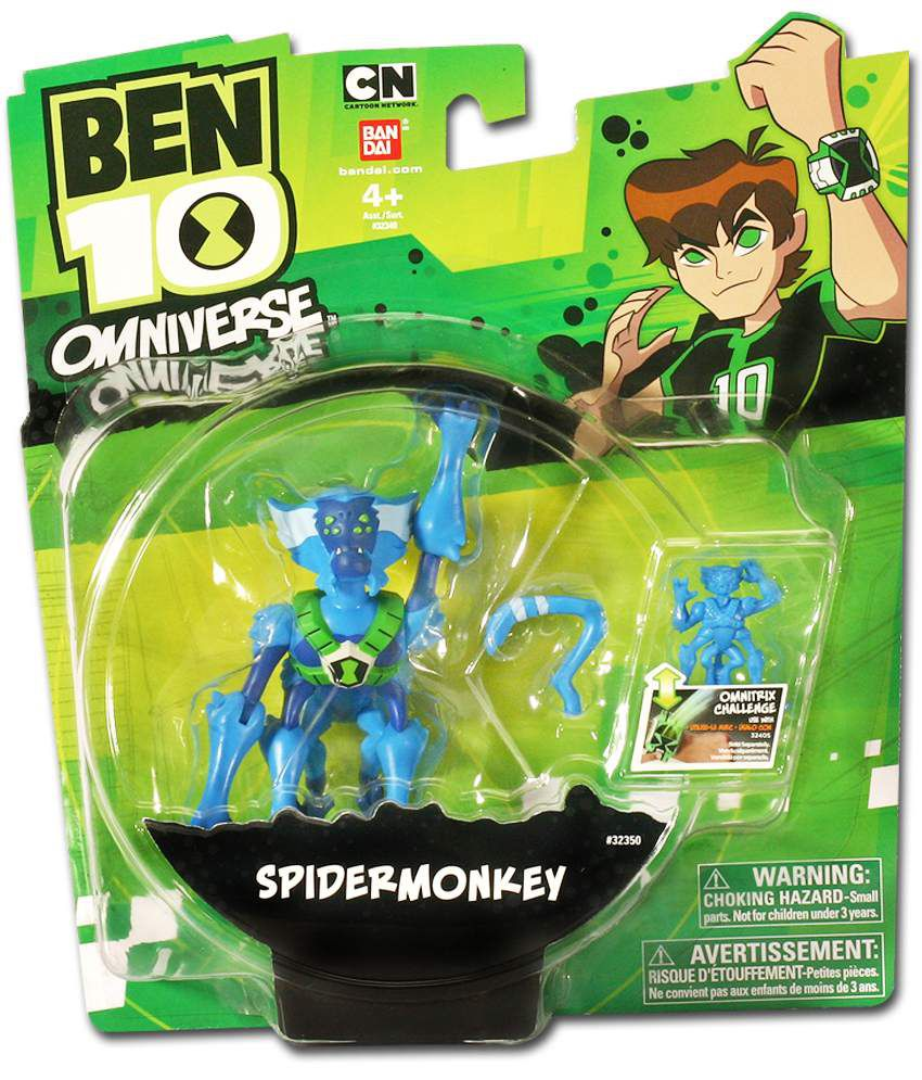 Ben 10 Omniverse spidermonkey Action Figure