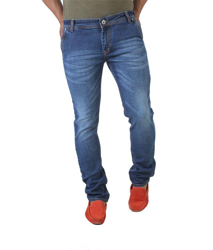 Fly Vulture Blue Regular Fit Jeans