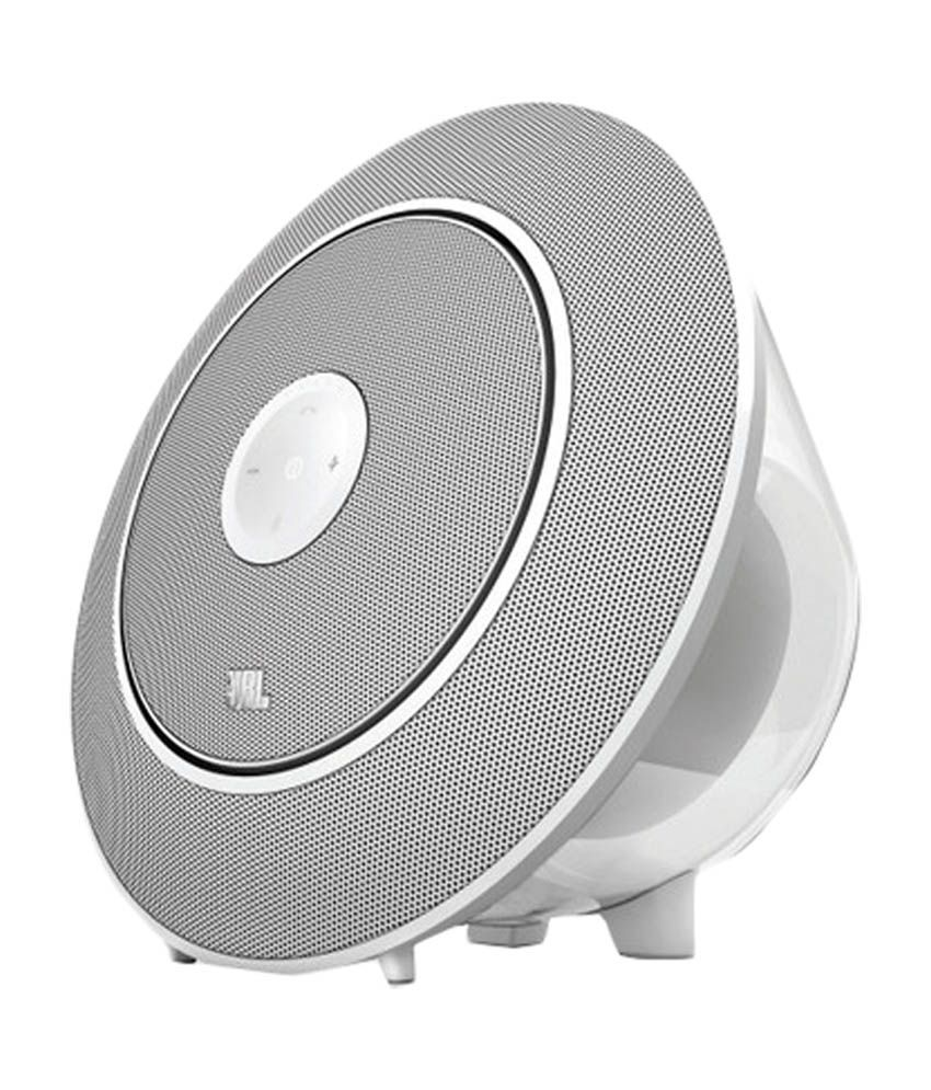 JBL Voyager Wireless Portable Speaker - White