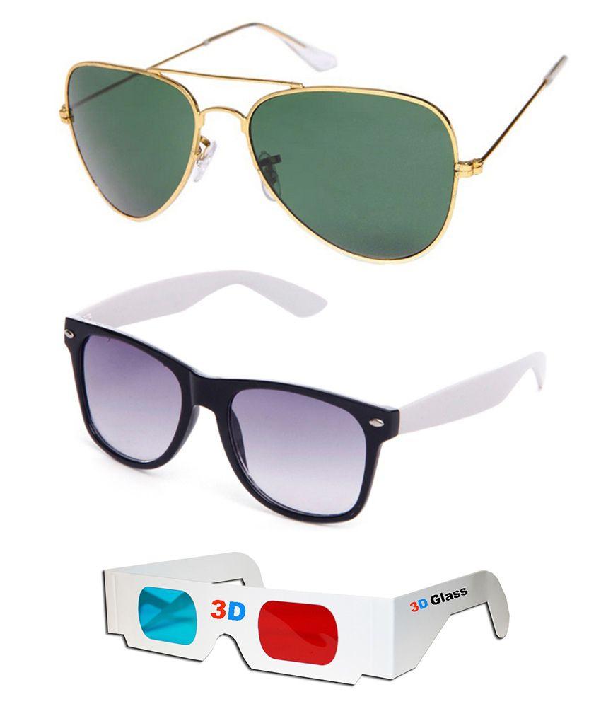 Talesara - Multicolor Square Sunglasses ( )