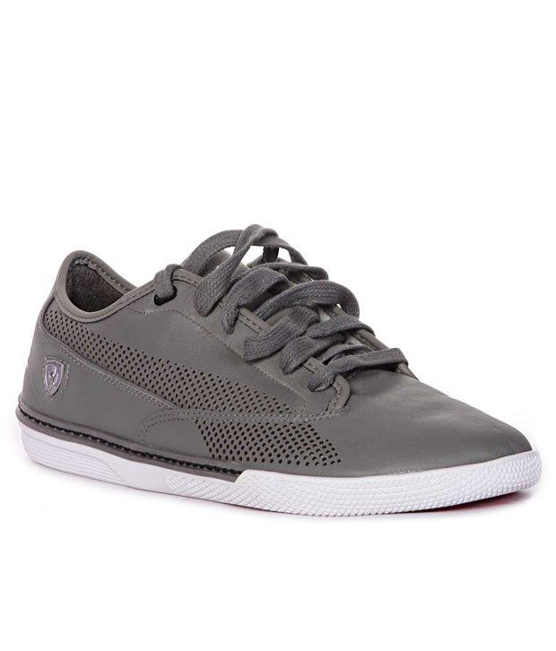 Puma Gray Sport Shoes