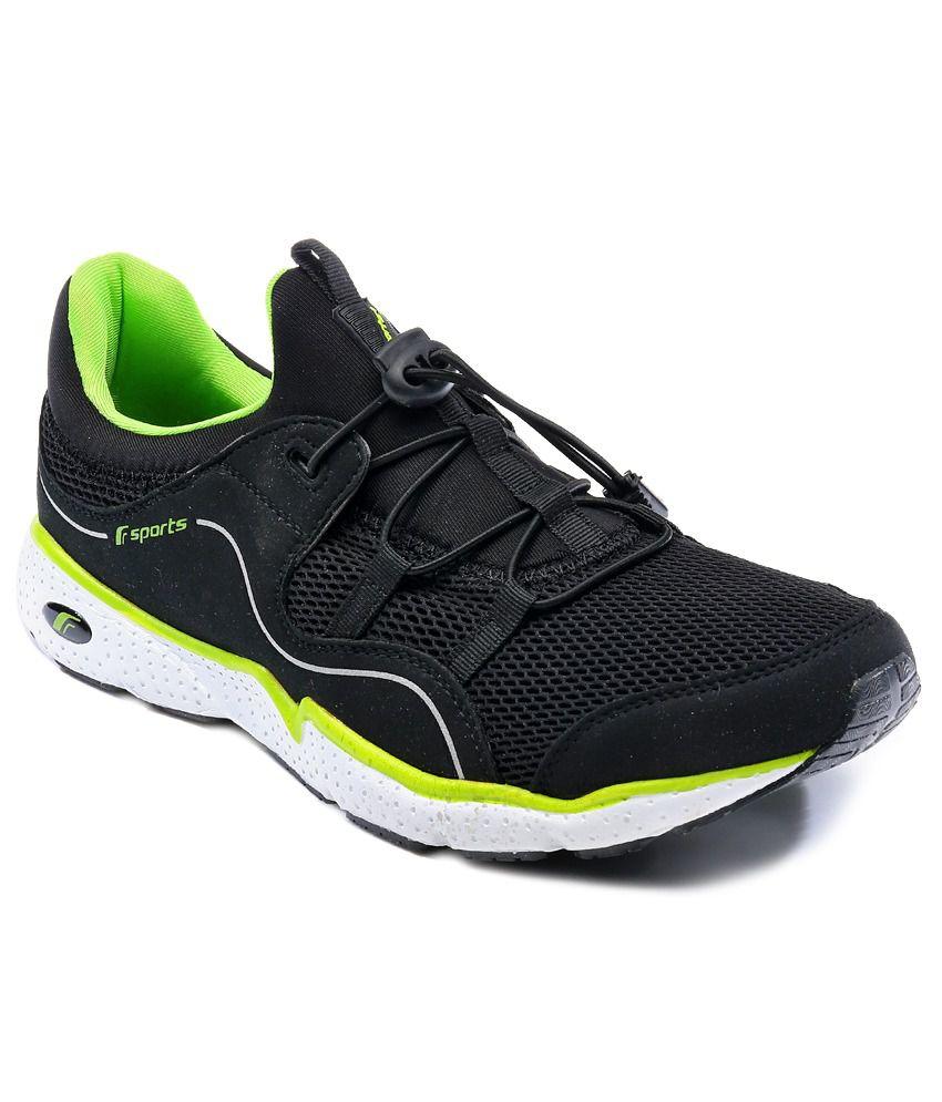 F-Sports Black Sport Shoes - Buy F-Sports Black Sport ...