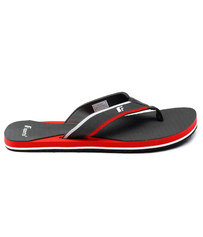 3eeae847b84363 F-Sports Gray Flip Flops Price in India- Buy F-Sports Gray Flip ...