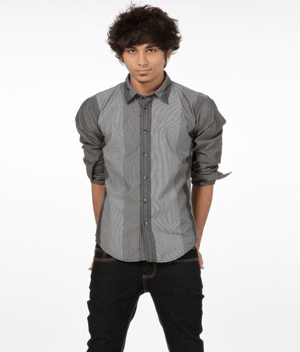 Probase Trendy Gray Shirt