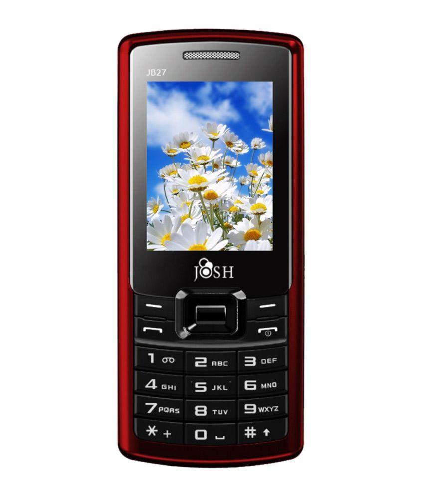 Zoomla Josh Mobile JB27 BLACK RED