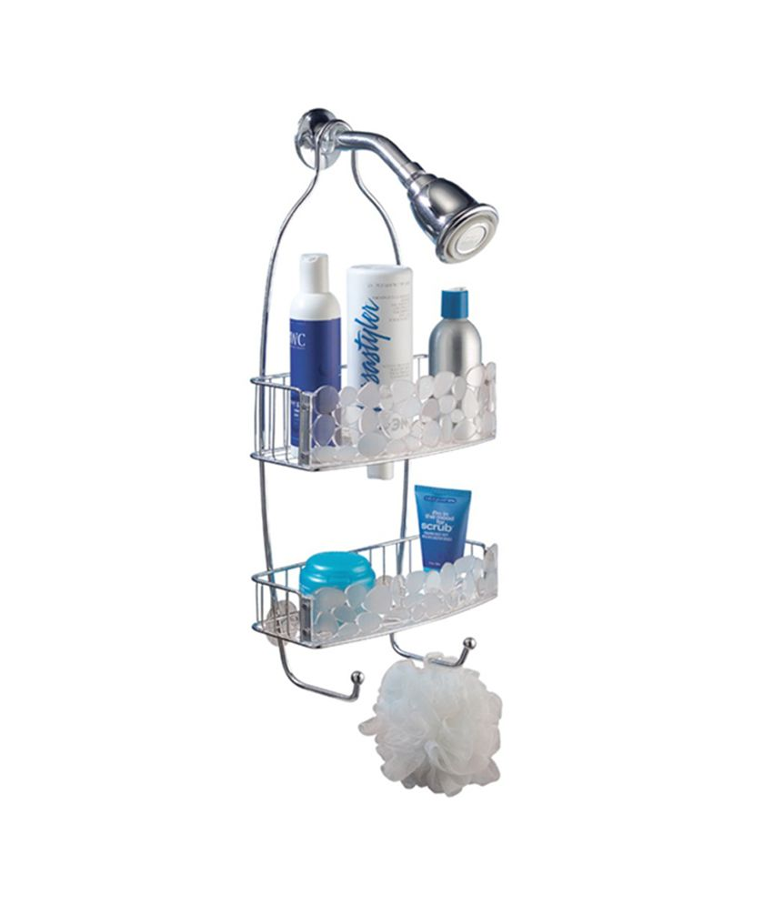 InterDesign Pebbles Silver Chrome Shower Caddy: Buy InterDesign ...