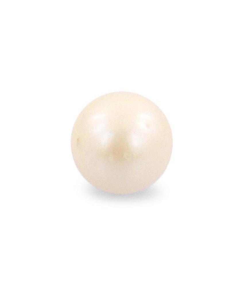 barishh 7 25 ratti certified pearl moti gemstone