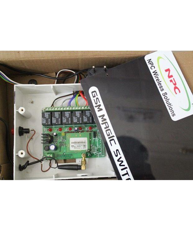 Npc GSM Magic Switch - On/off Home Appliances & Lights Via Cell Phone