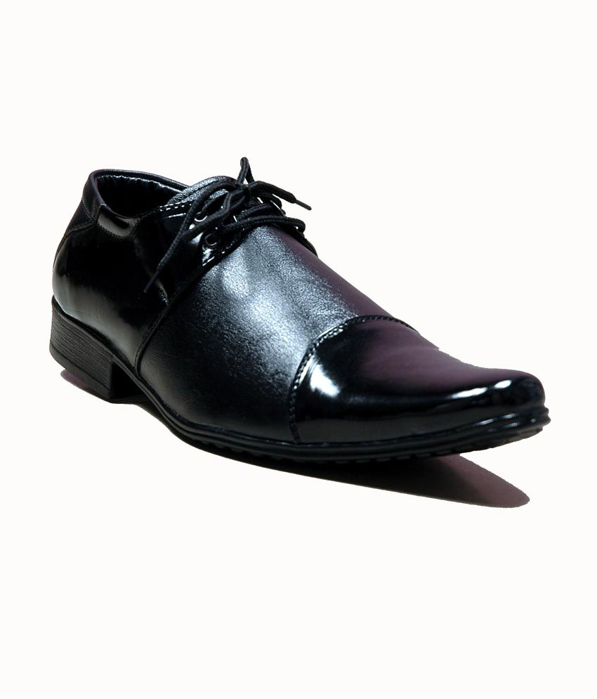 At Classic Black Formal Shoes