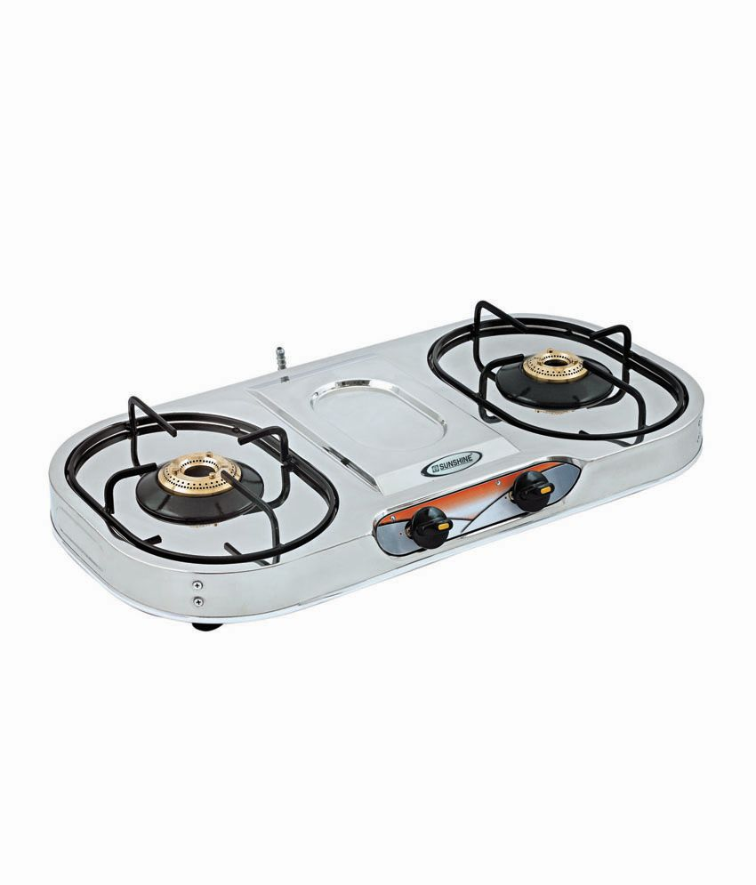 Sunshine VS-4 Dlx Plus 2 Burner Gas Cooktop