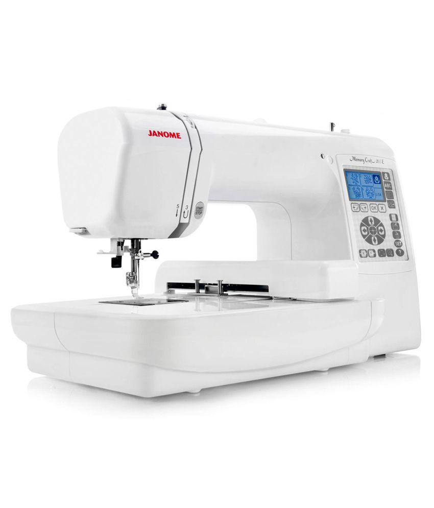 Usha computerised janome memory craft 200e price in india for Janome memory craft 200e