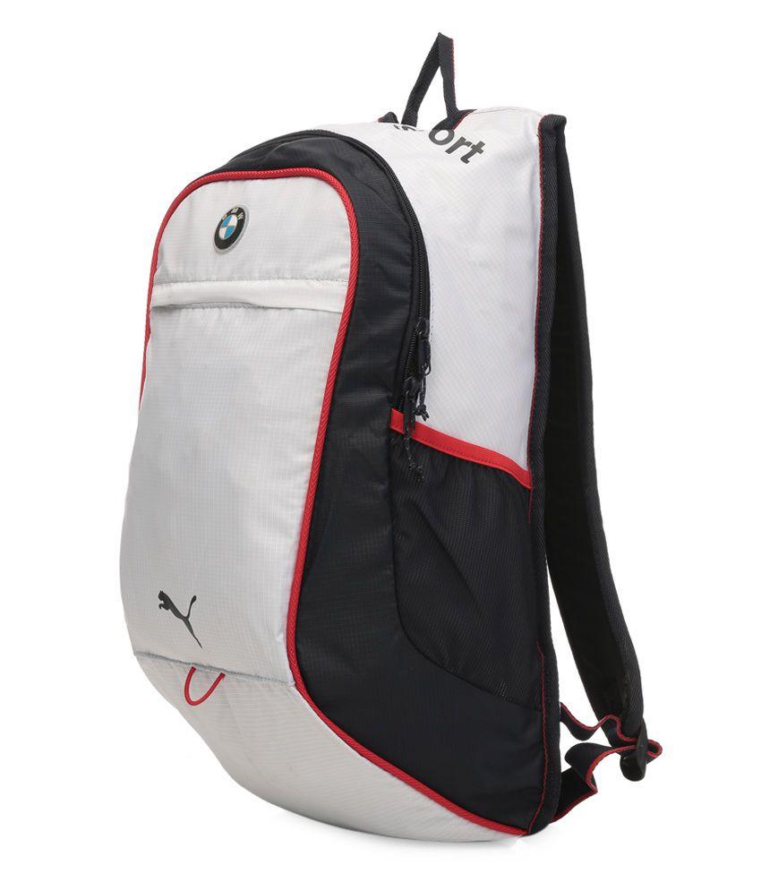 9cab79ad181 Puma White BMW Motorsports Backpack Puma White BMW Motorsports Backpack ...