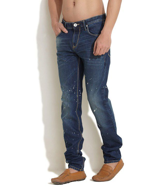 Indigo Nation Blue Slim Fit Jeans