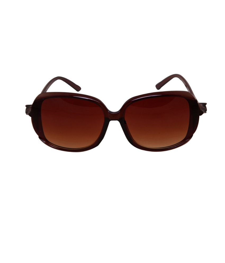 Petrol 8585-BROWN Brown Medium Women Cat Eye Sunglasses